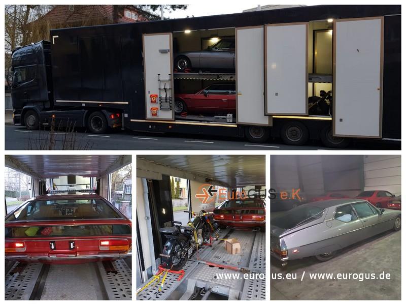 Доставка авто из Германии в Антверпен, Бельгия на крытом автовозе