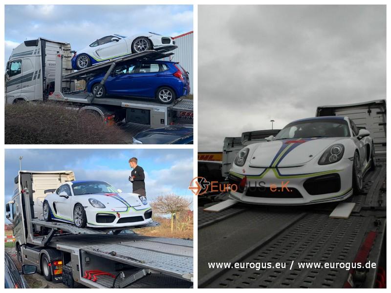 Porsche GT4 порт Германии