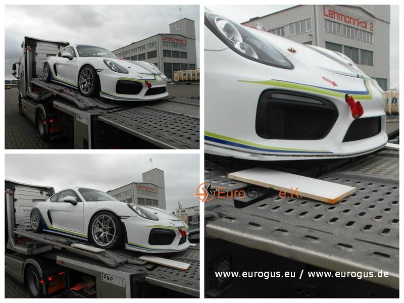 Porsche GT4 эвакуатор