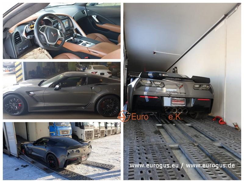 Chevrolet Corvette из Америки в Германию