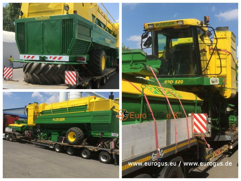 Ploeger EPD 520 горохоуборочный комбайн из европы